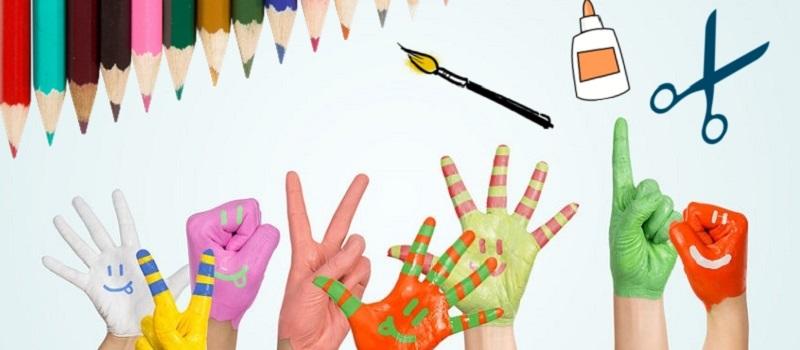 Autour des enfants enfance et ducation quelle activit artistique pour votre enfant - Activite manuelle enfant 4 ans ...